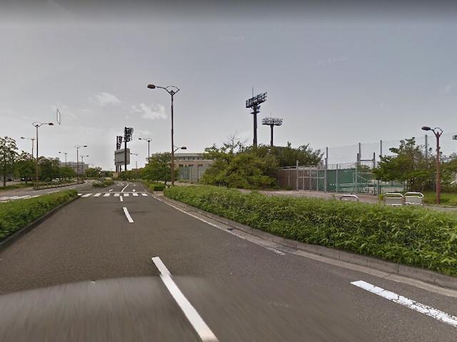 松山競輪場アクセス1
