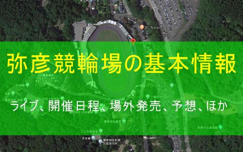 弥彦競輪場の基本情報
